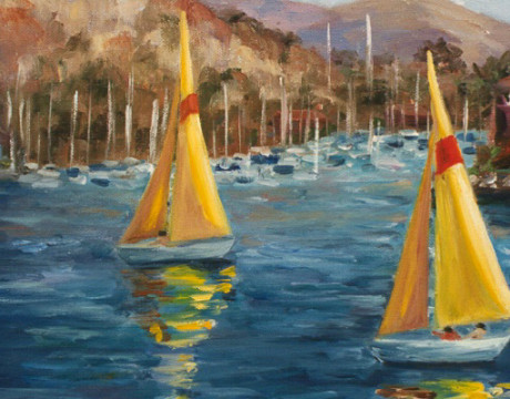 Boats in Dana Point