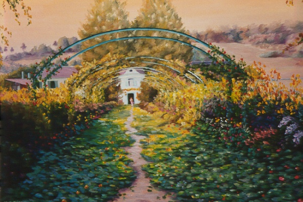 Monet Gardens II